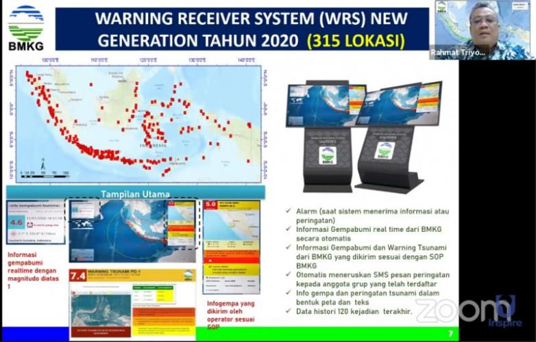 Alat Deteksi Gempa dan Tsunami Dipasang di 315 Lokasi Rawan