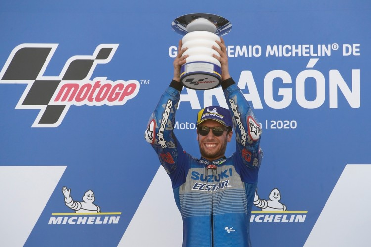 Alex Rins Rebut Podium Pertama MotoGP Aragon