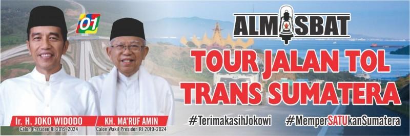 Almisbat Ajak Ribuan Warga Tour Jalan Tol