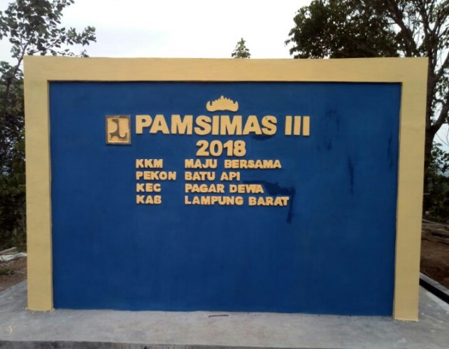 Alokasi Dana Program Pamsimas di Lampung Barat Tahun ini Capai Rp5,060 Miliar