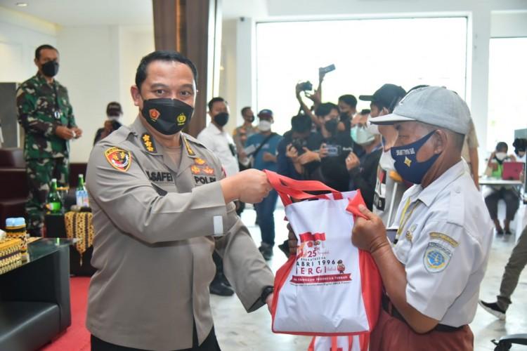 Alumni Akabri 96 Bharatasena Lampung Suntikkan Seribuan Dosis Vaksin