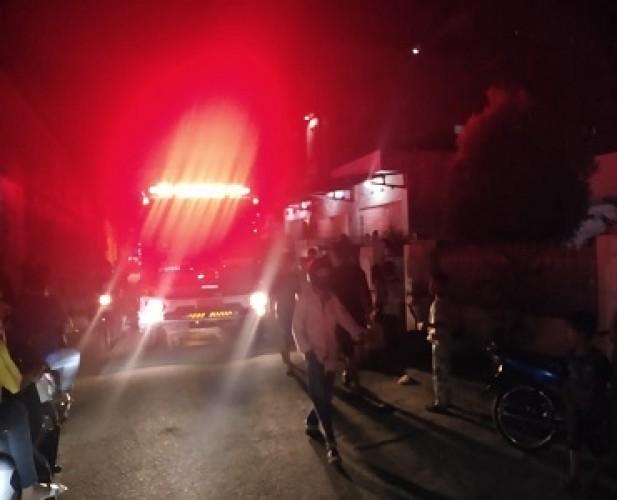 Anak Bermain Korek Api, Rumah di Kotakarang Terbakar