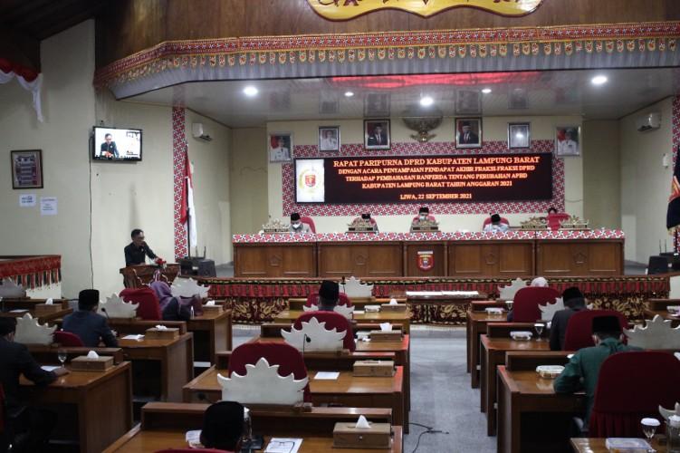 Anggaran Belanja Lampung Barat 2021 Naik Rp32 Miliar