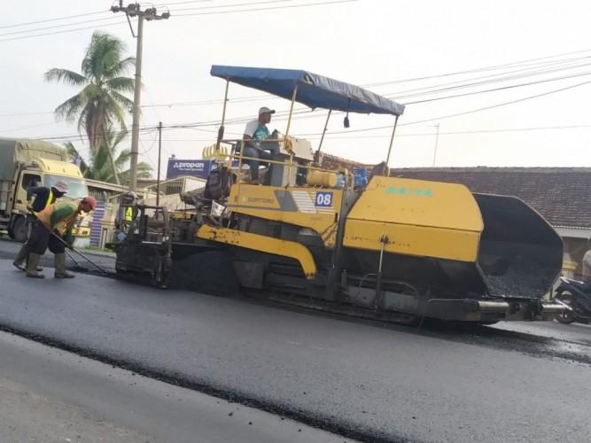 Anggaran Perbaikan Jalan di Lampung Rp250 Miliar