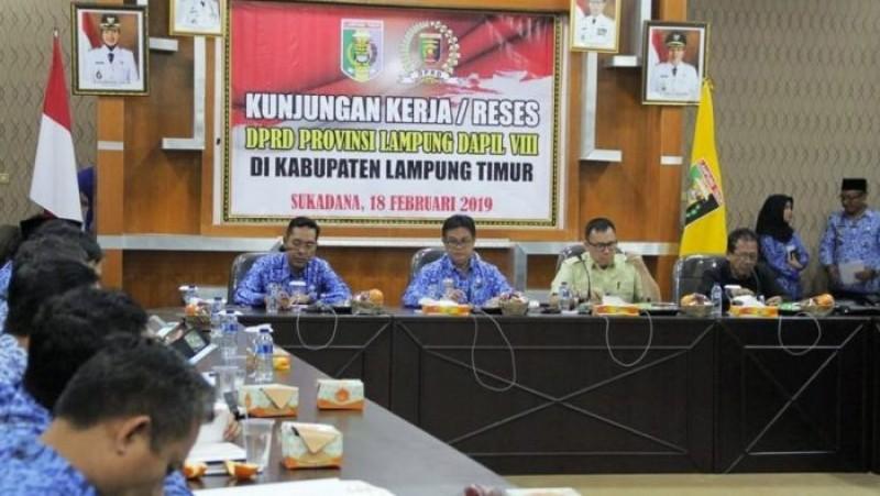 Anggota DPRD Lampung Gelar Reses ke Dapil VIII Lampung Timur