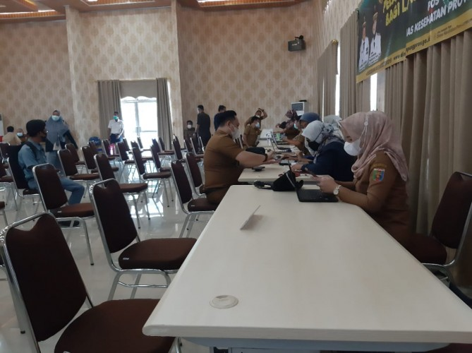 Anggota DPRD Lampung Mulai Divaksin