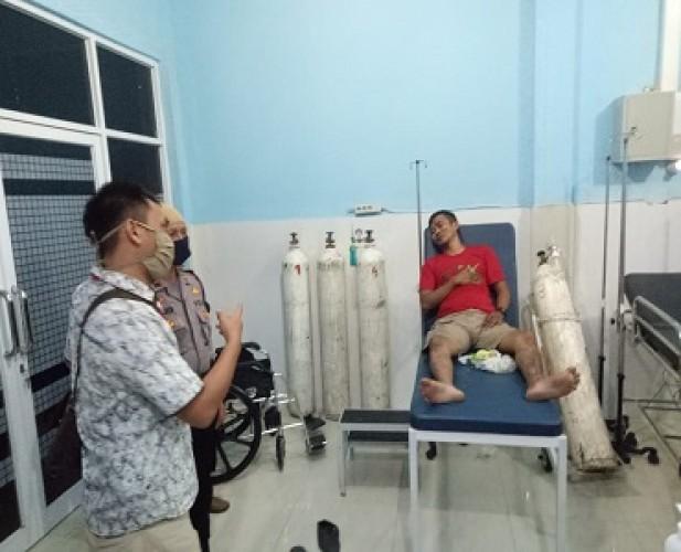Anggota Polres Pringsewu Dikeroyok Warga Perwata