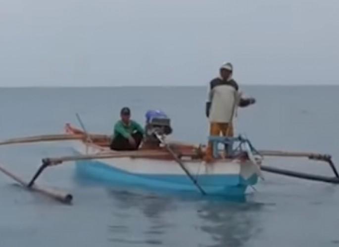 Angin Kencang, Nelayan Teluk Lampung Nekat Melaut
