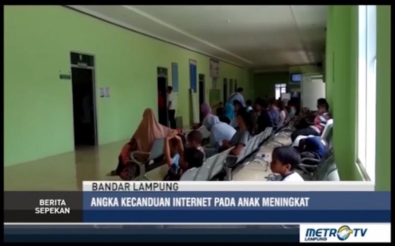 Angka Kecanduan Internet pada Anak di Lampung Meningkat Tajam