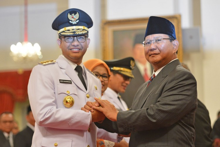 Anies dan Prabowo Bertemu Bahas Persoalan Bangsa