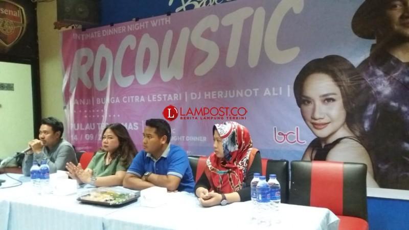 Anji, BCL danDJ Herjunot Ali Hadir di Rocoustic Part I Tegal Mas