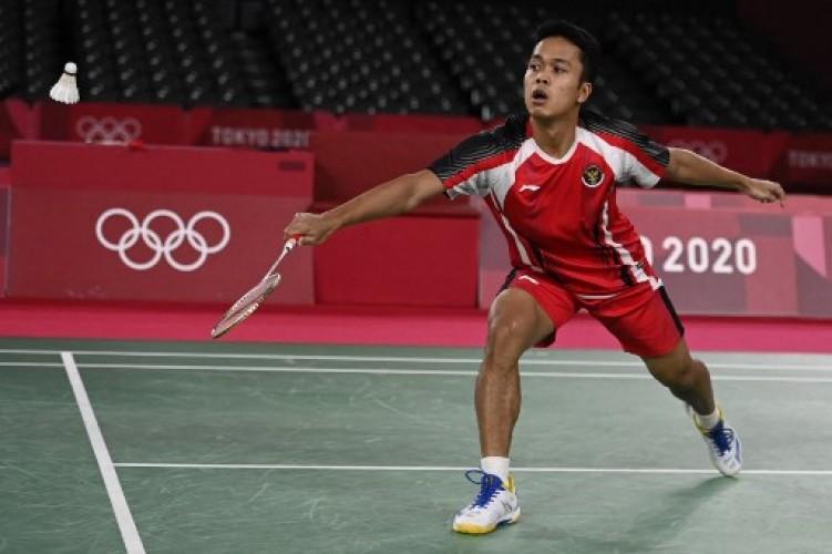 Anthony Ginting Kalah, Indonesia Kembali Tertinggal dari Malaysia
