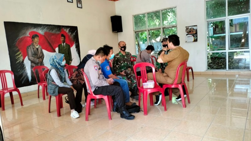 Antisipasi Covid-19 Meluas, Kecamatan Sidomulyo Bekali Tim Tracer
