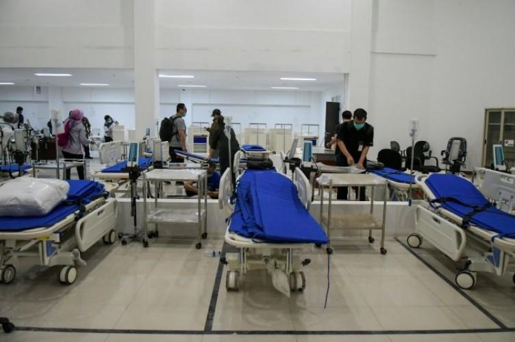 Antisipasi Lonjakan Covid-19, Kemenkes Tambah Kapasitas Tempat Tidur