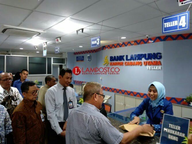 Antisipasi Uang Palsu,Bank Lampung Dukung Penukaran Uang