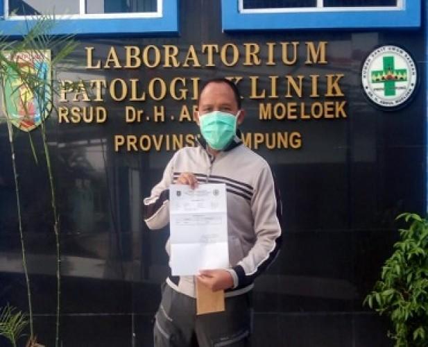 Antoni Imam Sembuh dari Covid, Siap Lanjutkan Tahapan Pilkada
