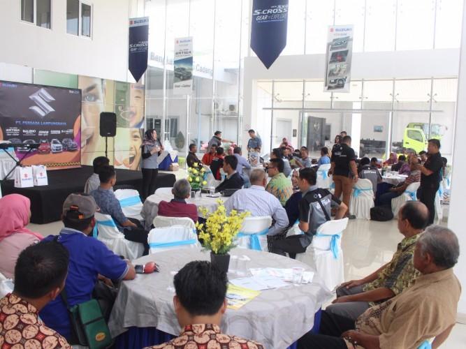 Antusias Konsumen Tinggi, Suzuki Bukukan 36 SPK dalam Acara Showroom Event