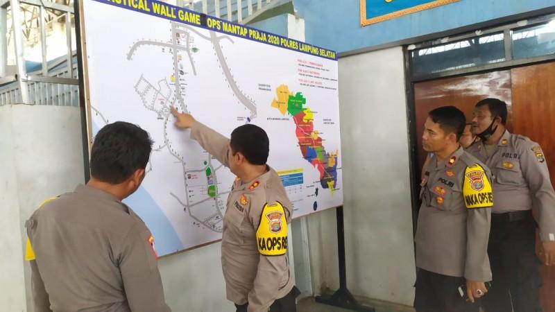 Aparat Amankan TPS Berdasarkan Tingkat Keamanan