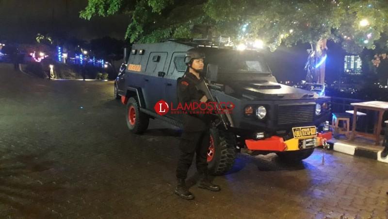 Aparat Tak Temukan Bahan Peledak di Hotel Bukit Randu
