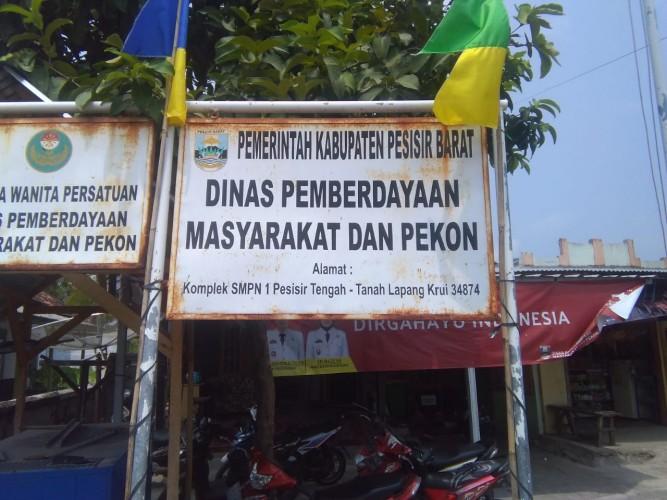 Aparatur Pekon di Pesisir Barat Dilarang Jadi Anggota LSM