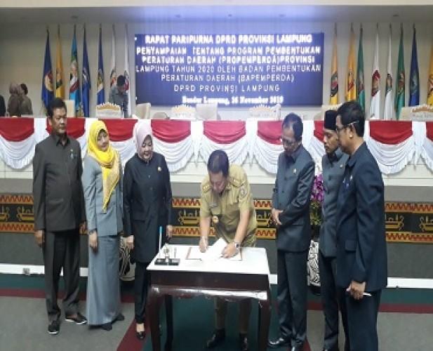 APBD Lampung 2020 Capai Rp7,8 Triliun