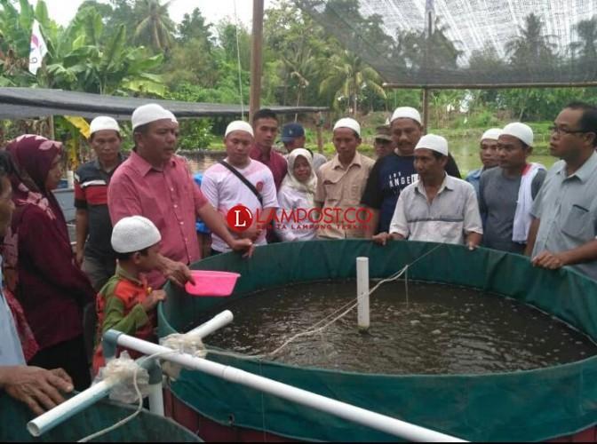 APCI Lampung Beri Pelatihan Budi daya Ikan Tawar