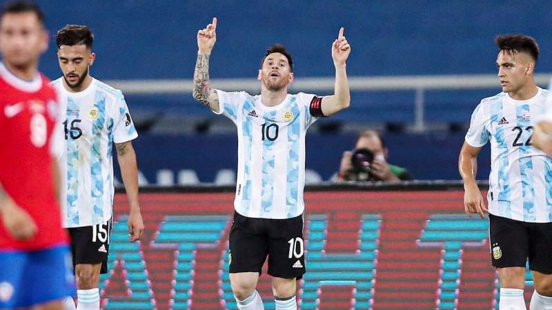 Argentina Berbagi Angka dengan Cile di Copa America