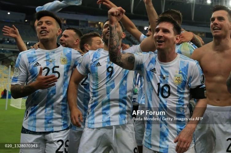 Argentina Juara Copa America Usai Tumbangkan Brasil