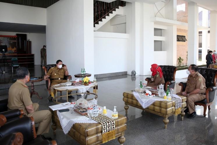 Arinal Ajak Eva Bareng-Bareng Bangun Bandar Lampung