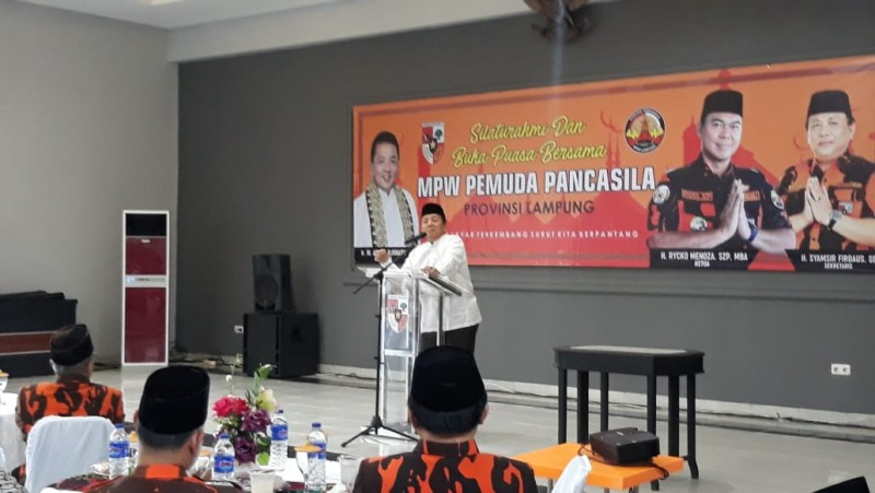 Arinal Ajak Pemuda Duduk Bersama Bangun Lampung Berjaya