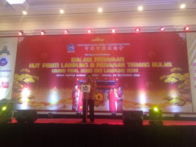 Arinal Ajak Warga Tionghoa Dukung Pembangunan Lampung