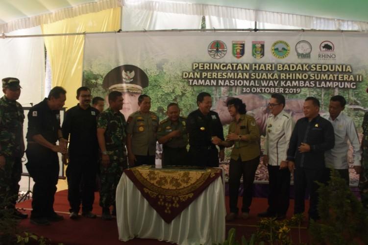 Arinal: Lampung Benteng Terakhir Lestarikan Badak Sumatera