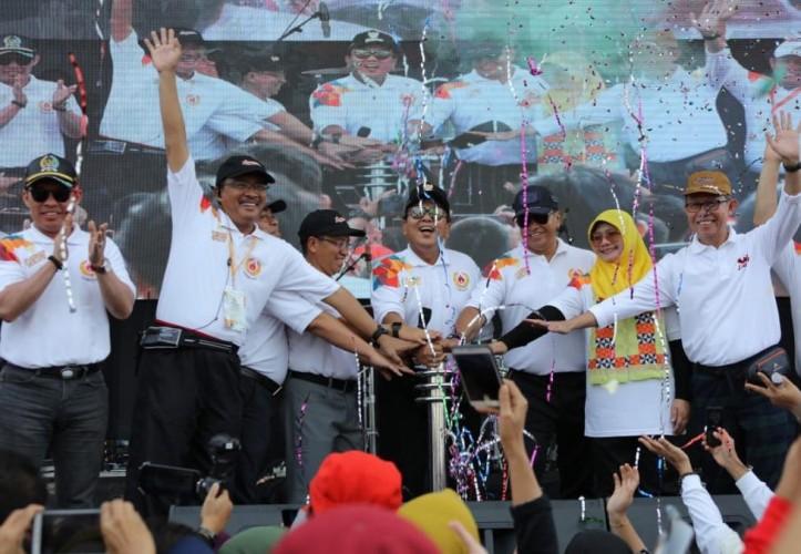 Arinal Luncurkan Olahraga Lampung Berjaya