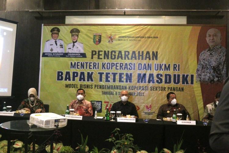 Arinal Minta Kementerian Fasilitasi Koperasi dan UMKM Lampung