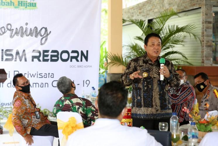 Arinal Optimis Pariwisata Lampung Bangkit