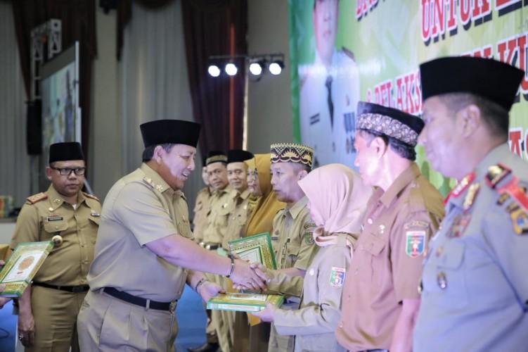 Arinal Resmikan Lampung Mengaji dan Kurikulum Bahasa Lampung