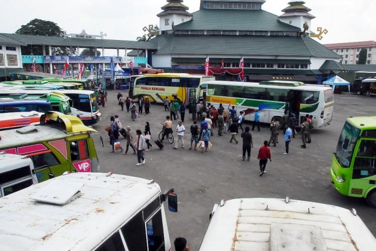 Arus Balik Mulai Meningkat di Terminal Rajabasa
