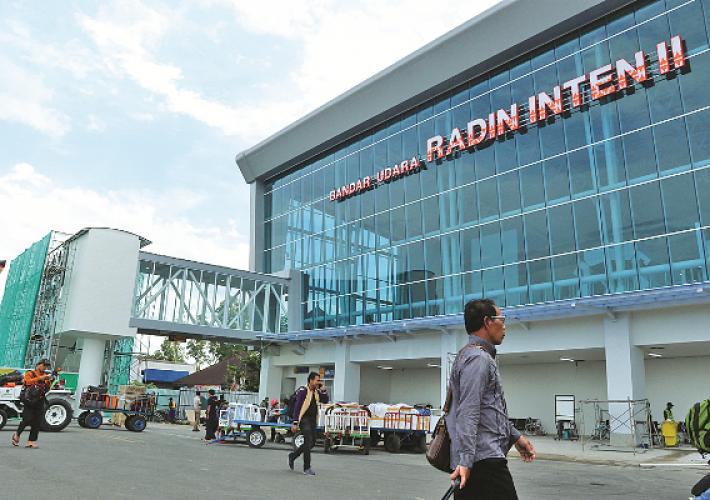 Arus Penumpang di Bandara Raden Inten II Meningkat 9,85 Persen