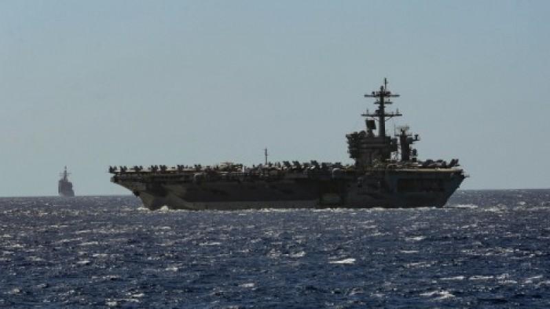 AS Evakuasi Awak Kapal Induk yang Diserang Virus Korona