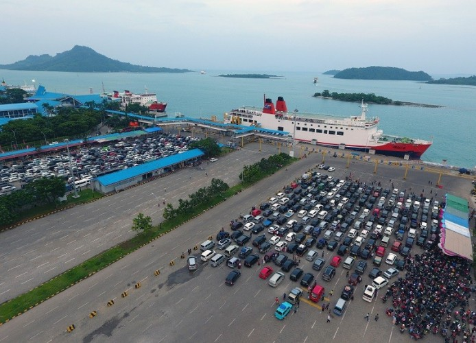 ASDP Antisipasi Banjir di Pintu Masuk Pelabuhan