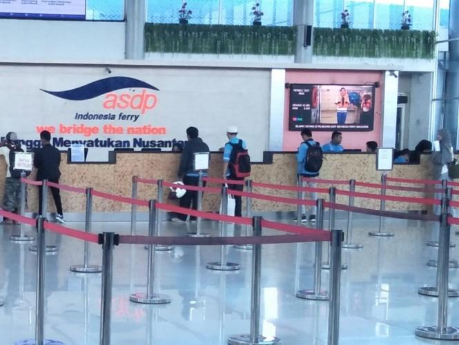 ASDP Kurangi Jadwal Penyeberangan sampai 50 Persen