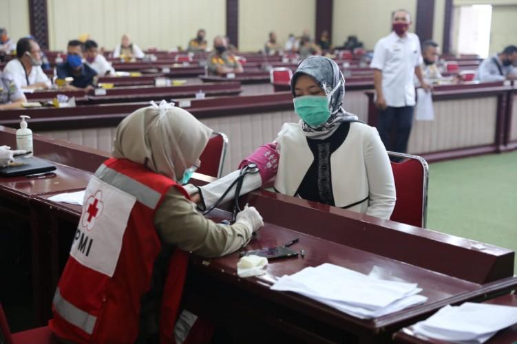 ASN Diajak Tak Ragu Donor Darah di Tengah Pandemi