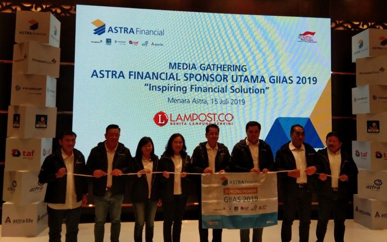Astra Financial Targetkan Pembiayaan Kendaraan Rp1 Triliun di GIIAS 2019