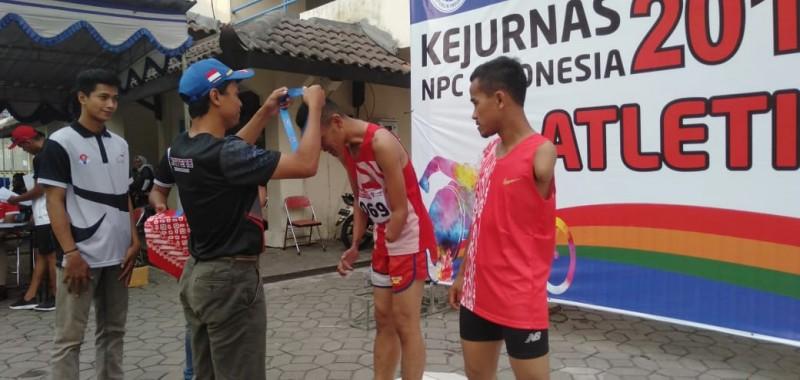Lampung Boyong 4 Medali Kejurnas Paralympic di Solo