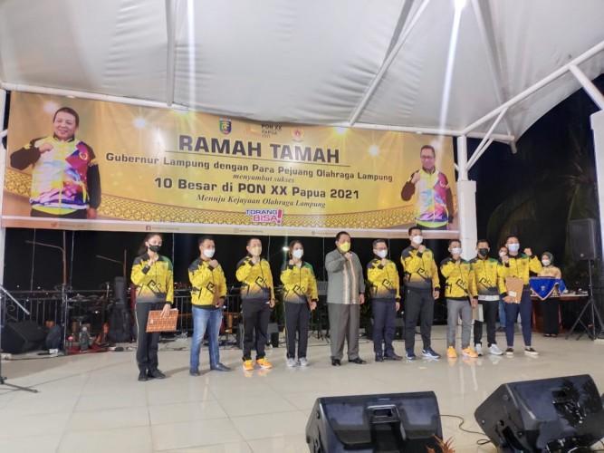Atlet Lampung Peraih Medali PON Diguyur Bonus