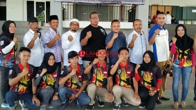 Atlet Porprov Lampung Selatan Terima Bonus