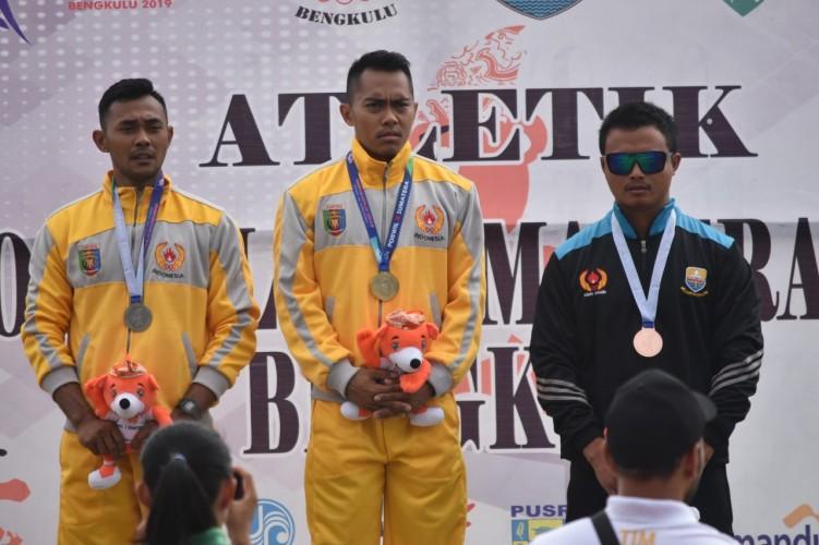 Atletik Sumbang Emas Kelima Lampung di Porwil