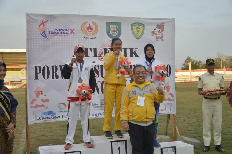 Atletik Tambah Emas Kontingen Lampung di Porwil