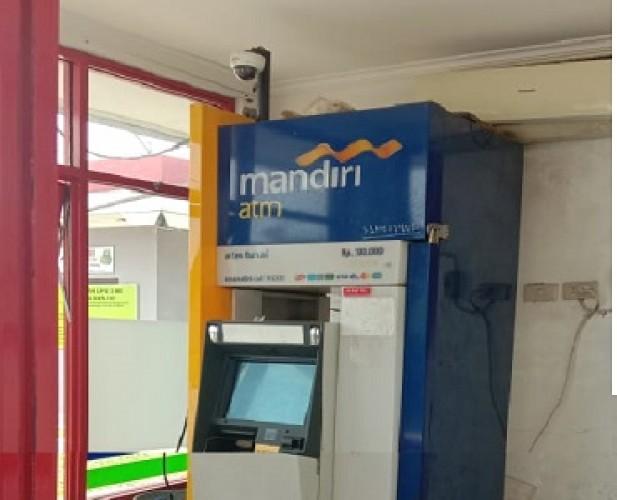 ATM Bank Pemerintah di SPBU Terminal Menggala Dibobol Maling