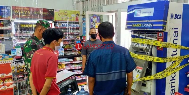 ATM dalam Minimarket Kembali Dibobol Maling